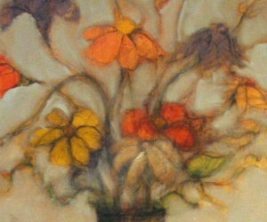 Flowers, 1988 Oil on Canvas